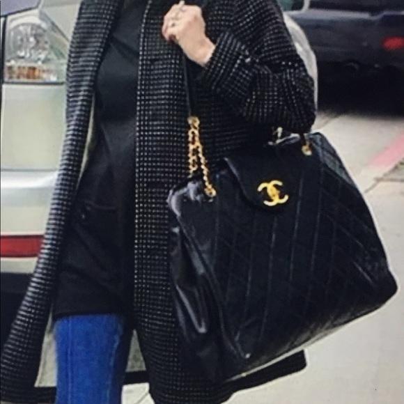 "CHANEL Handbags - 🆕 Chanel CC Super Model""Jumbo Chain Shoulder Bag d6436cb39df4e"